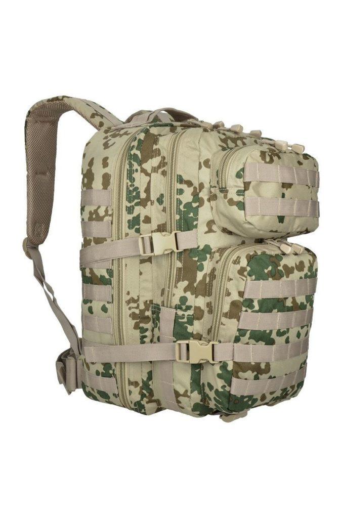 rucsac militar asalt camuflaj tropical