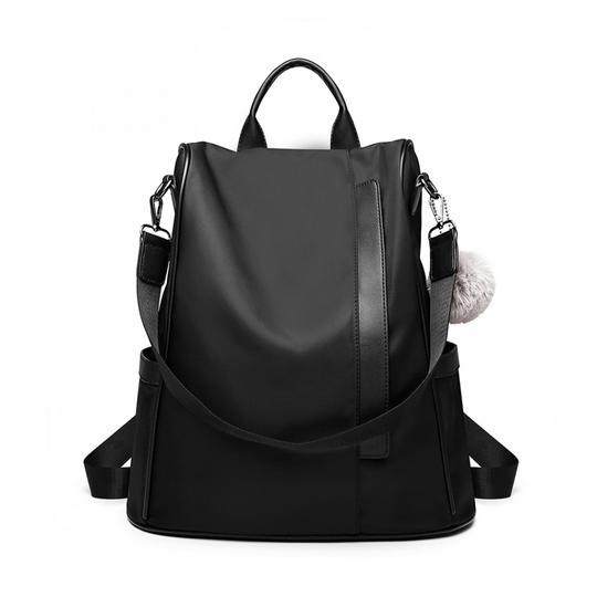 rucsac negru tip geanta